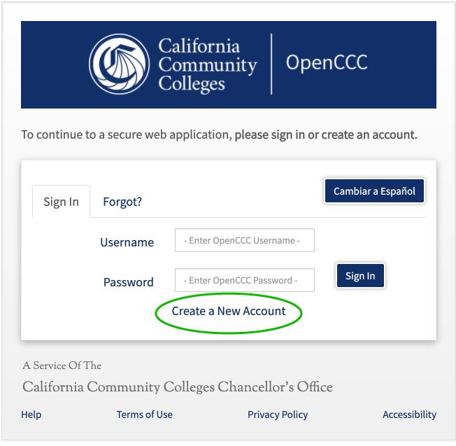 OpenCCC UI